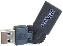 USB Adapter and Cable suits cramped environments.