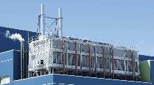 Cooling Towers offer high capacity closed circuit design.