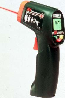 Infrared Thermometer measures up to 500°F.