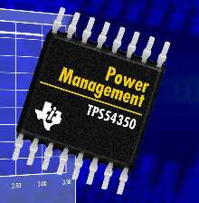 DC/DC Converter features integrated MOSFET.