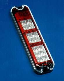 LED Taillight suits forklifts and lift trucks.