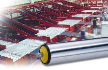 Conveyor Rollers help meet OSHA noise standards.