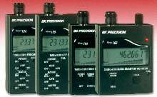 RF Counter/Detectors display frequency and signal strength.