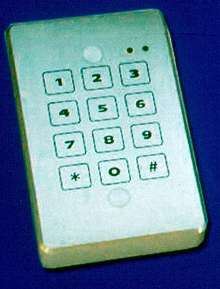 Access Control Keypads enable system expansion.