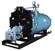 Scotch Boiler is available in sizes up to 800 hp.