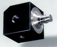 Triaxial Accelerometer resists mounting strain.