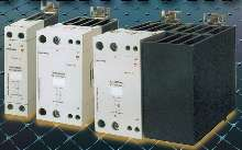 Solid-State Relays have integrated heat sink.