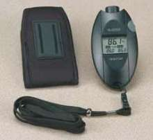 Infrared Thermometer instantly measures surface temperature.