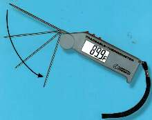 NIST Traceable Thermometer employs flip-to-open design.
