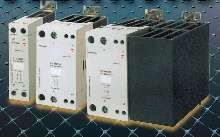 Solid State Relays feature integrated heat sink.