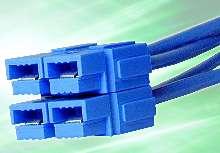 Finger-Proof Connectors provide user safety.