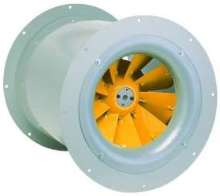 Mixed Flow Fan provides quiet operation.