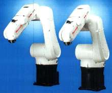 Articulated Robots offer 6-axis operation.