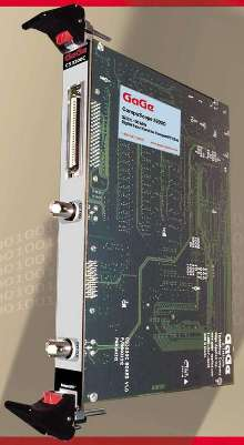 Data Capture Card is offered in CompactPCI/PXI version.