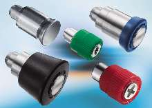 Captive Hardware offers customized colored knobs.