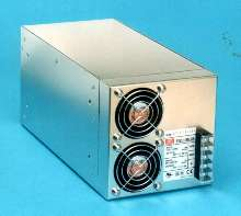 Switching Power Supplies accept input from 85-265 Vac.