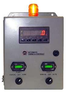 Pump Controller is field programmable.