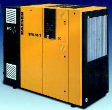 Compressors offer efficiency over wide flow range.