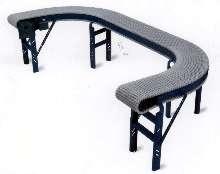 Modular Conveyor enables multiple curves.