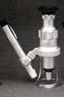 Measuring Microscopes are portable and illuminated.