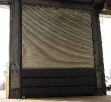 Steel Curtain retrofits existing rolling doors.