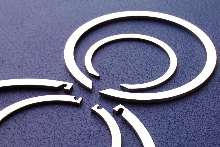 Snap Rings have no protruding ears or burrs.