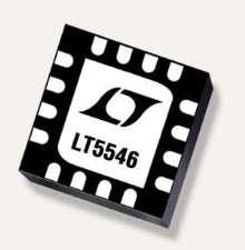 IF Quadrature Demodulator works in portable applications.