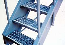Conventional Industrial Stairs Are Built To Order.