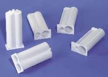 Nylon Cartridges handle 2-component adhesives.