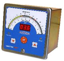 Pressure Meter interfaces with dust-collector controls.