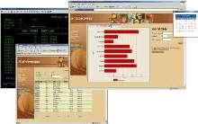 Software provides host access/network integration.