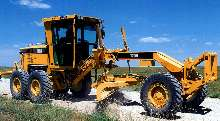 Motor Graders feature electronically-controlled engine.