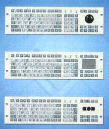 Keyboards are offered in rack- and panel-mount versions.