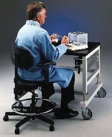 Hydraulic Lift Base Stands allow individual user adjustment.