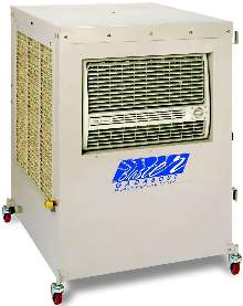 Evaporative Coolers run independently of water source.