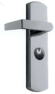 Exit Devices offer ADA-compliant lever trim.
