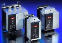 Compact Soft Starters take up minimal panel space.