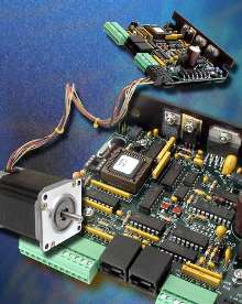 Programmable Stepper Drive simplifies repetitive movement.
