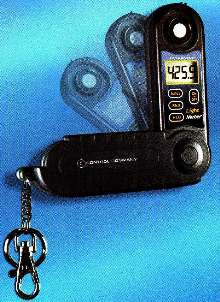 Keychain Light Meter offers bright 1/2 in. display.