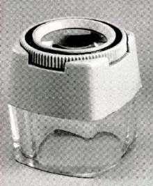 Magnifiers suit hand or desktop applications.