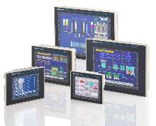 HMI Touch Screen Terminals include Ethernet connectivity.