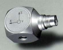 Accelerometer offers measuring range of ±500 g.