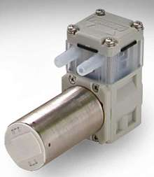 Diaphragm Pump offers flow rates to 190 ml/min.