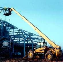 Telehandler offers load capacity of 10,000 lb.