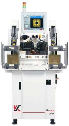 IC Ball Bonder offers 35 µm fine pitch capability.