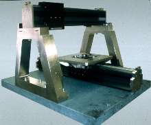 Linear Air Bearing System comes in 1- and 2-axis designs.