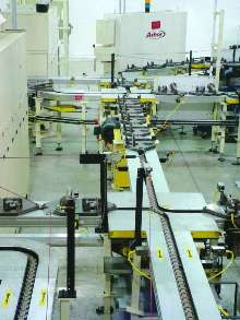 Custom Palletized Conveyor Systems keep parts moving.