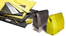 Safety Strips and Mats are available in yellow.