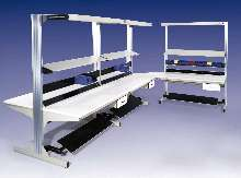 Modular Work Stations offer 1,000 lb capacity.