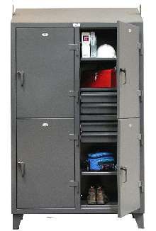 Heavy Duty Personal Locker comes with multiple drawers.